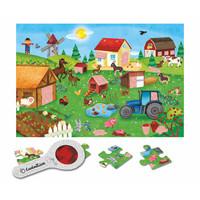 Ludattica Secret Puzzle The Farm 24 pcs