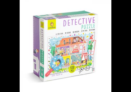 Ludattica Ludattica Detective Puzzle My House 108 pcs