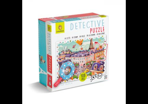 Ludattica Ludattica Detective Puzzle In Town 108 pcs
