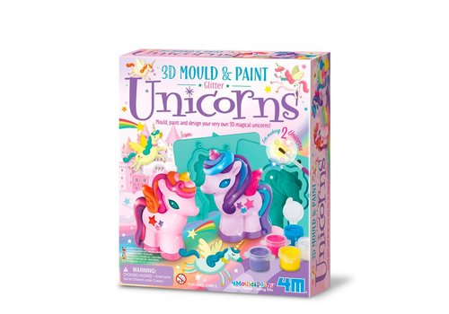 4M 4M Crea Plaster Casting and Painting 3D Unicorn