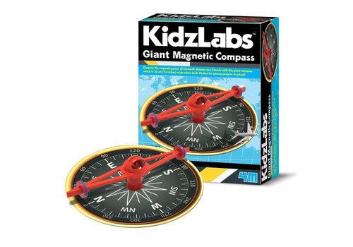 4M 4M KidzLabs Reuze Magnetisch Kompas
