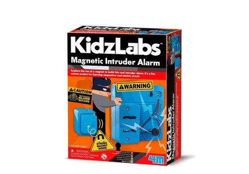 4M 4M KidzLabs Magnetisch Inbraakalarm