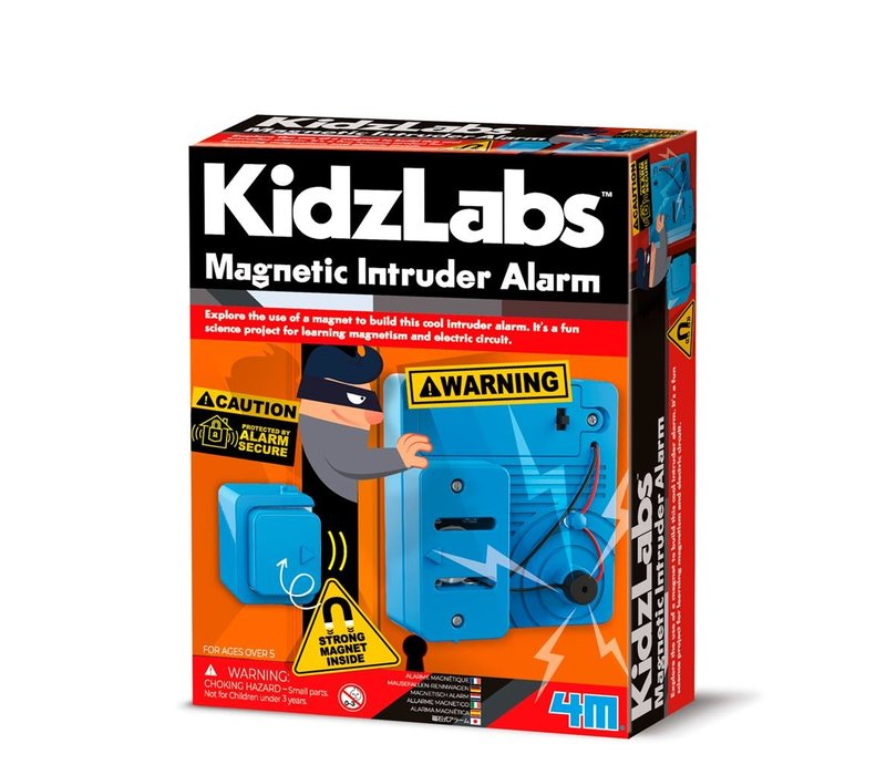 4M KidzLabs Magnetisch Inbraakalarm