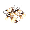 Sirius Sirius Tobias  Lightstring with 10 Clear Lamps 4,5 m