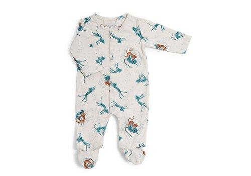 Moulin Roty Moulin Roty Pyjama Jachtluipaard 'Sous mon Baobab'  3 maanden