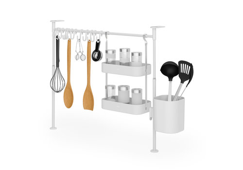 Umbra Umbra Anywhere Kitchen Tension Organizer