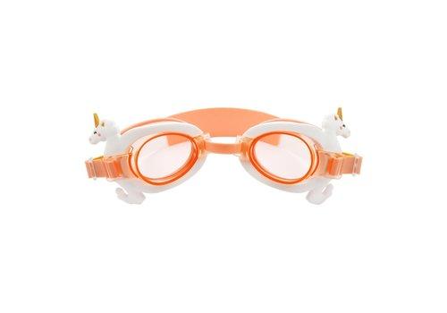 Sunnylife Sunnylife Mini Swim Goggles Seahorse Unicorn
