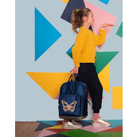 Caramel & Cie Backpack Butterfly Blue