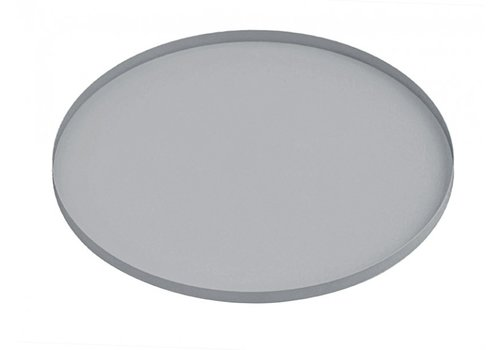 Present Time Present Time Tray Round Iron Mouse Grey