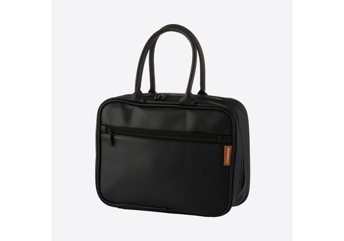 Typhoon Typhoon Pure Lunch Bag from Vegan Leather black
