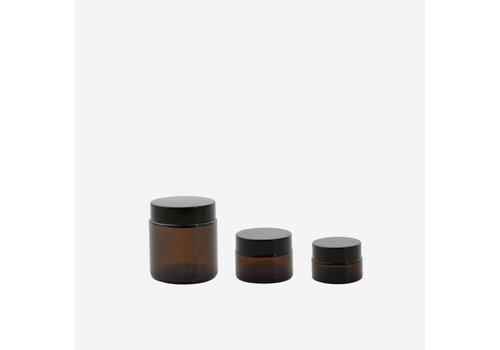 Point-Virgule Point Virgule Set of 3 Glass Cosmetic Jars