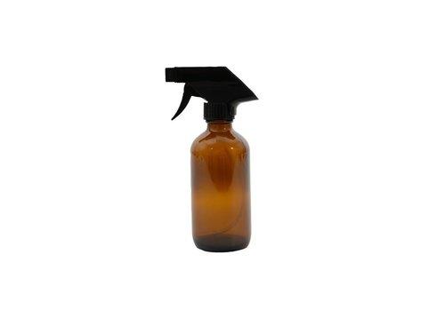 Point-Virgule Point Virgule Boston Glass Bottle with Spray Amber 250ml