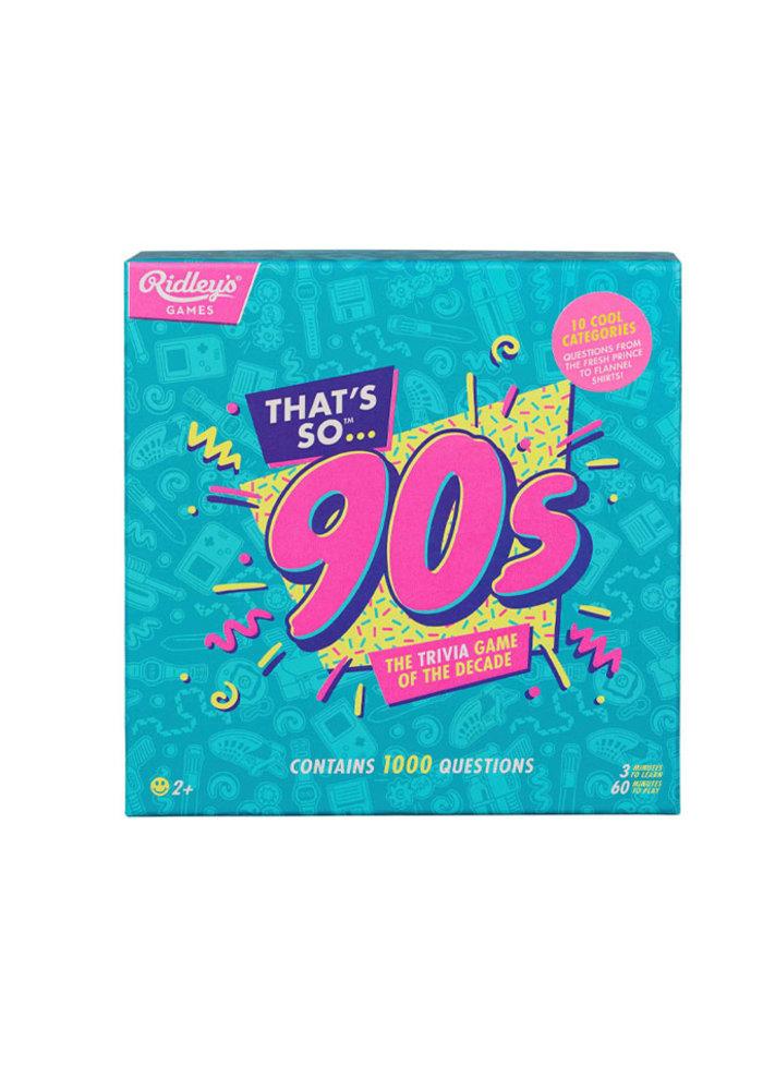That's so 90's - Quiz