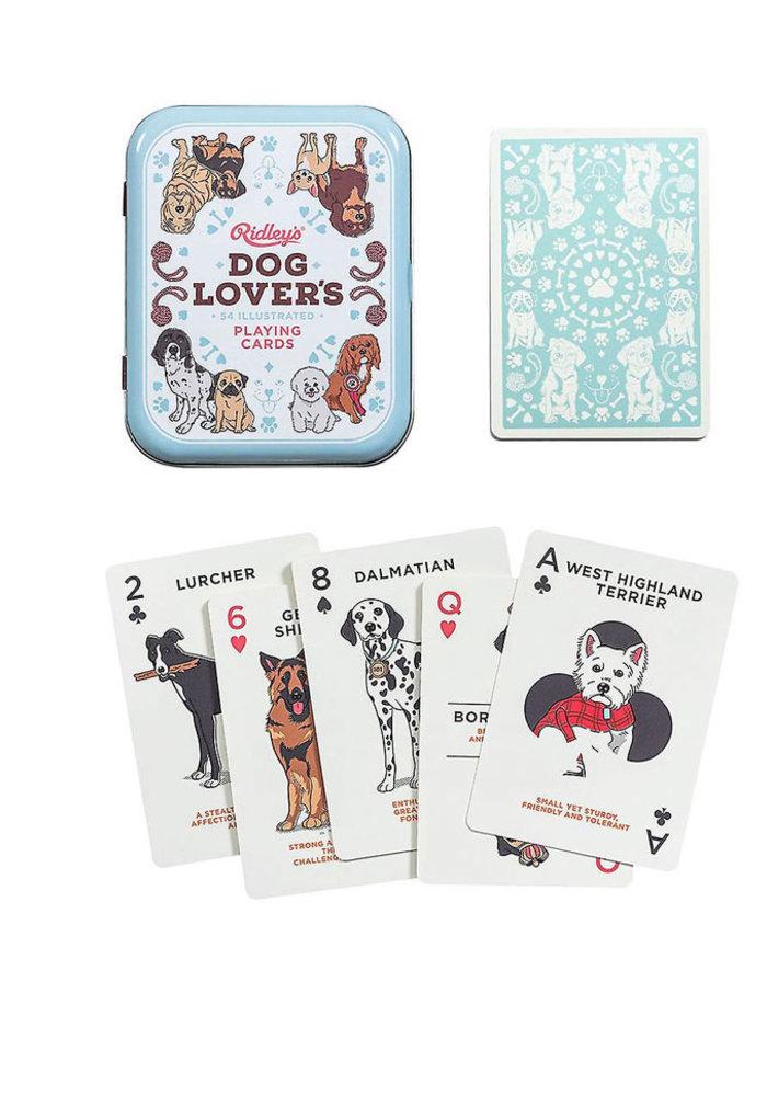 Ridley - Honden /  katten speelkaarten