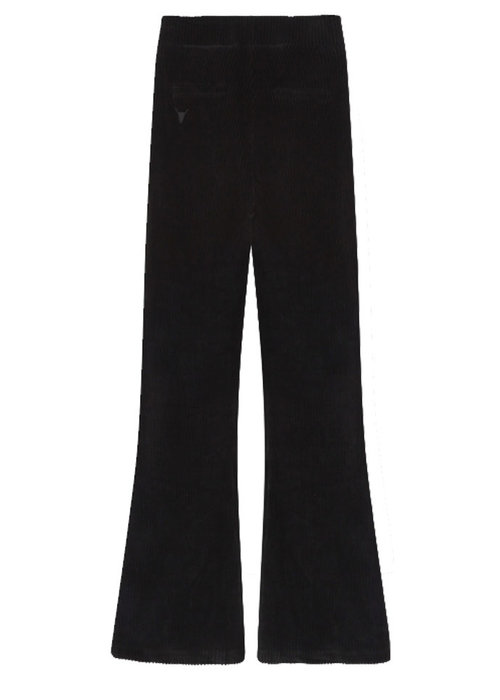 Alix the label -Rib Velvet Flared Pants