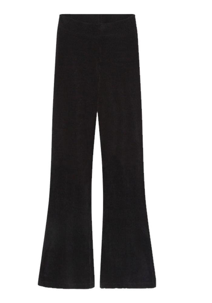 Alix the label - Rib Velvet Flared Pants