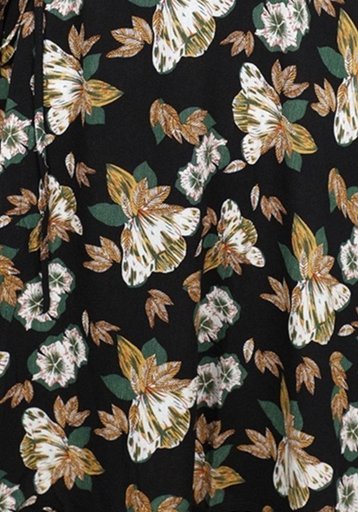 Fabienne Flower - Wrapp Dress