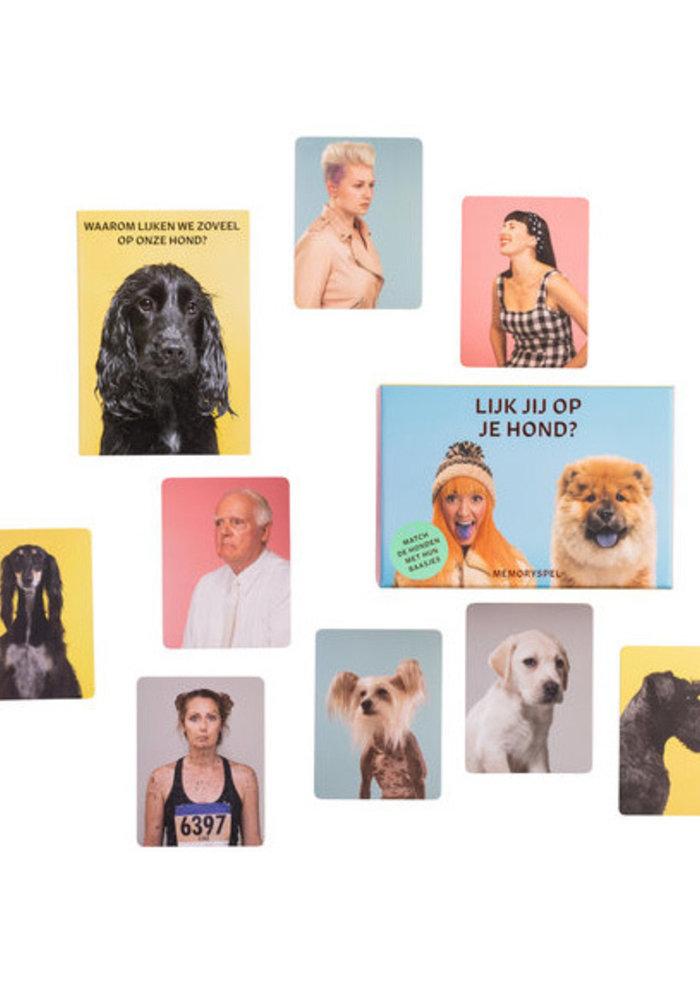 Lijk jij op je hond - memory