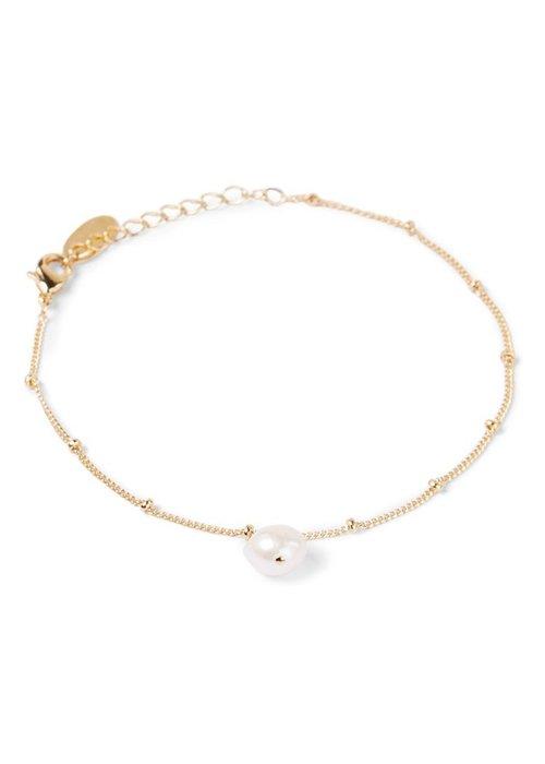 Orelia Orelia - Pearl Drop Ditsy Necklace