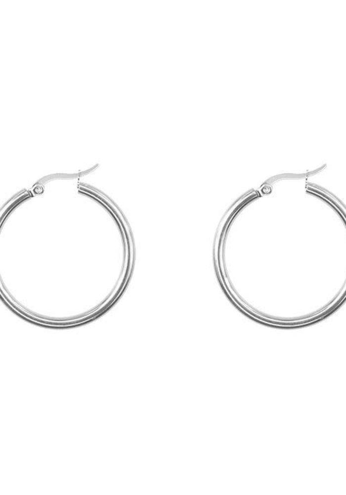 My Jewellery - Oorringen basic klein zilver