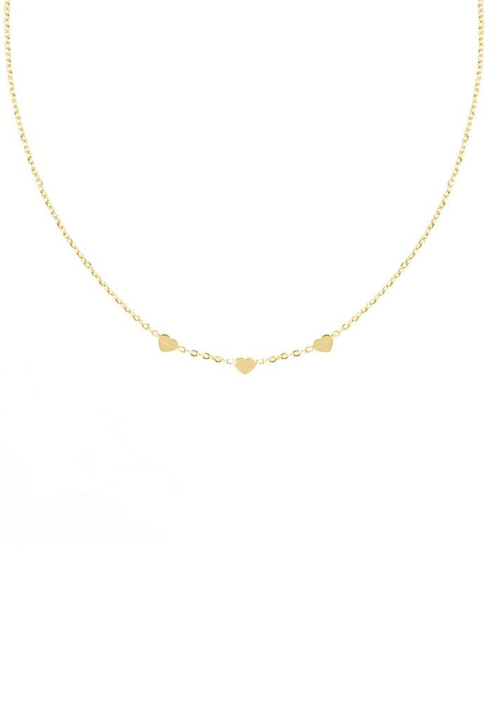 My Jewellery - Ketting 3 hartjes
