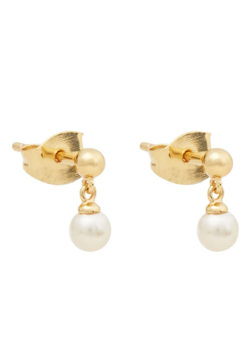 Orelia Orelia - Mini Pearl Drop Stud Earrings