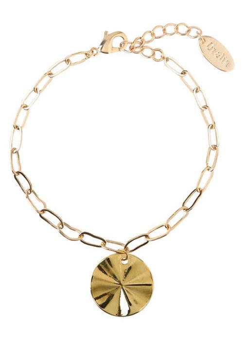Orelia Orelia - Coin Chunky Chain Bracelet