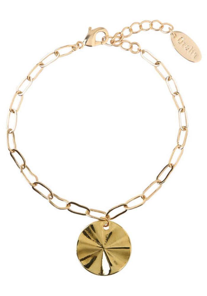 Orelia - Coin Chunky Chain Bracelet