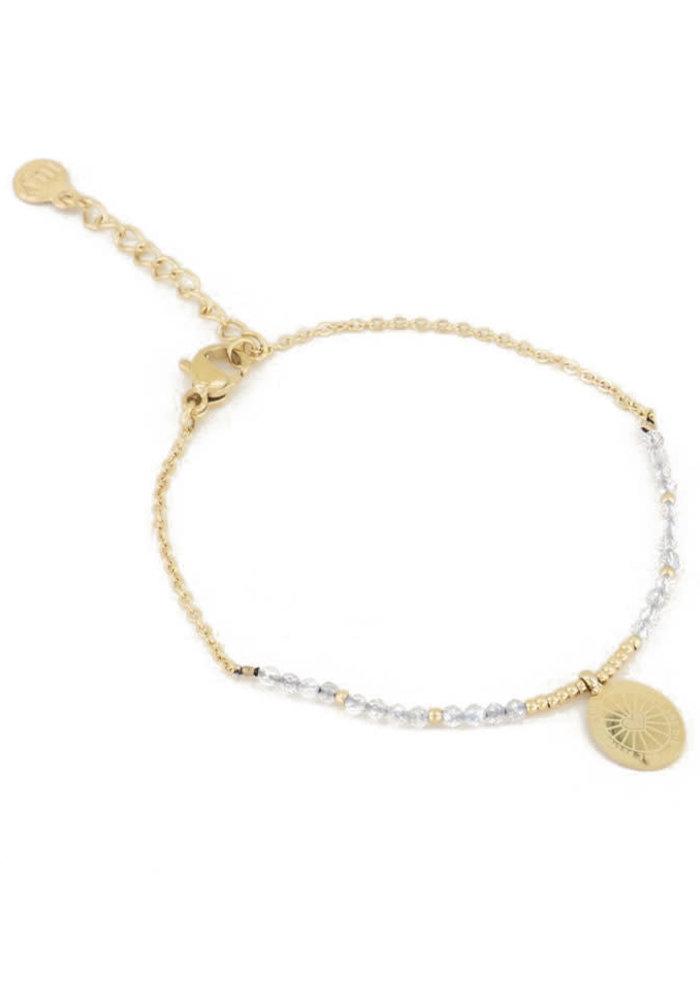 My Jewellery - Armband bedel & labradorite