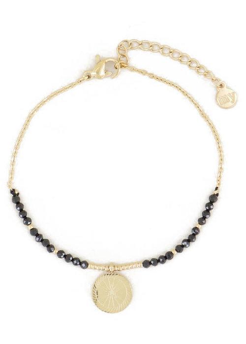 My Jewellery - Armband bedel & black onyx