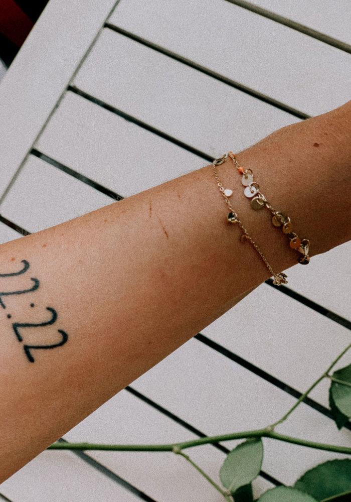 armband kleine hartjes