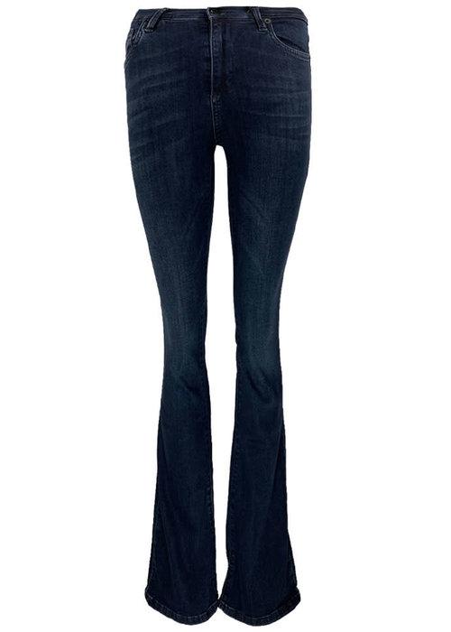 Homage Homage - Flare Jeans Dark Blue