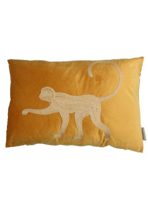 Trends & Trade Kussen Monkey velvet