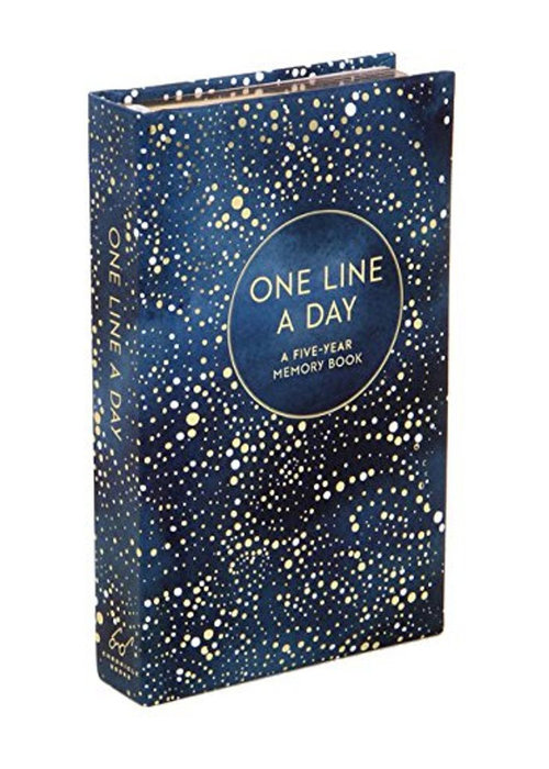 One Line a day blue