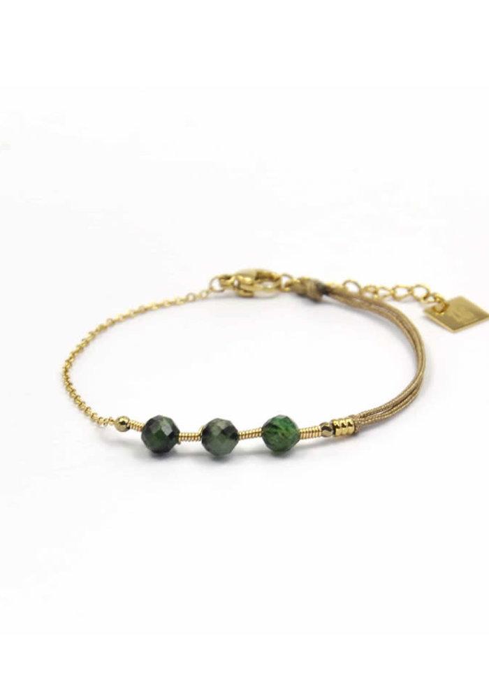 ZAG - Armband Tourmaline Green