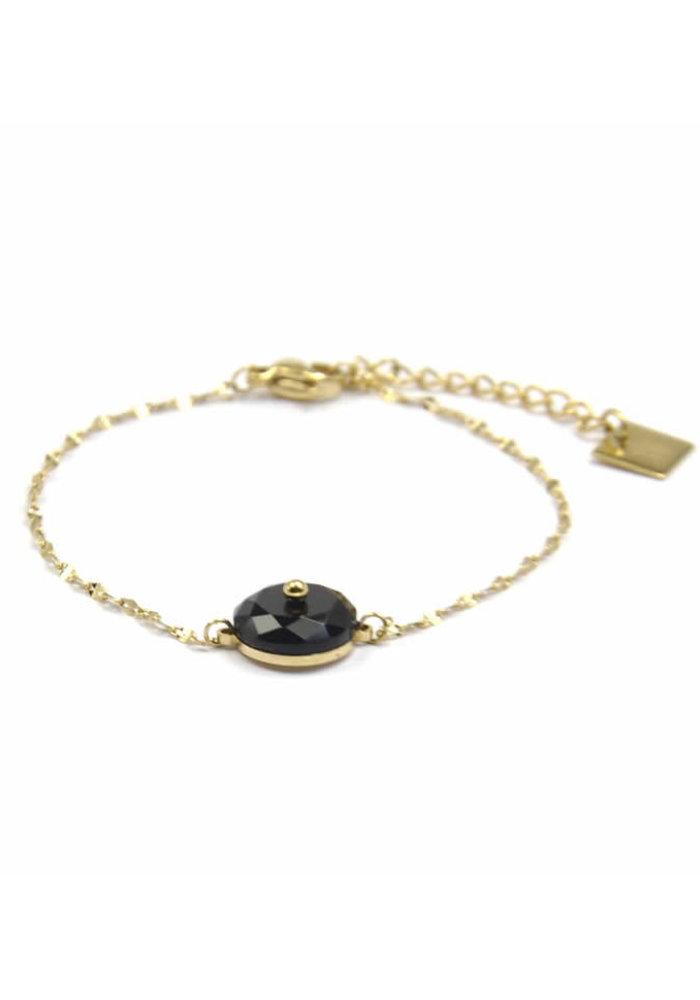 ZAG - Armband Luxury chain black