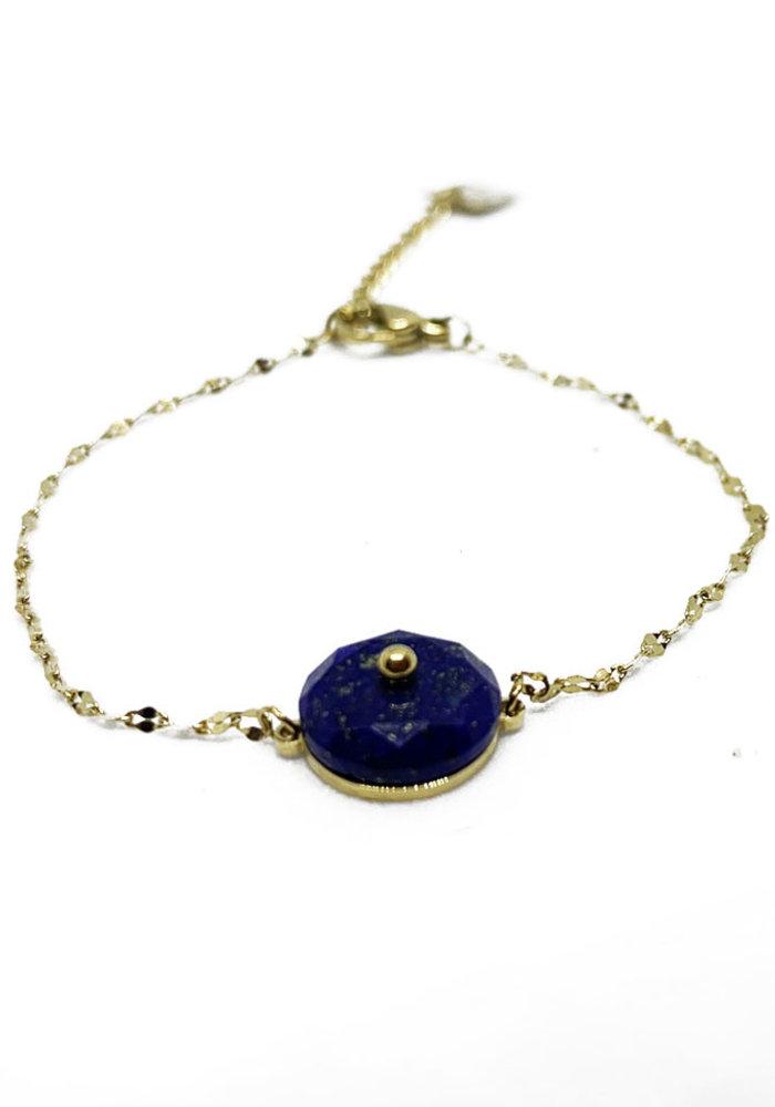 ZAG - Armband Luxury chain blue