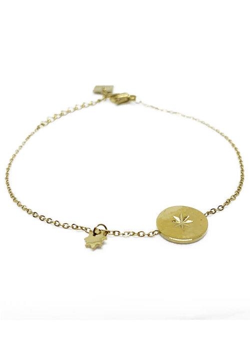 Zag Bijoux ZAG- Armband Coin Star
