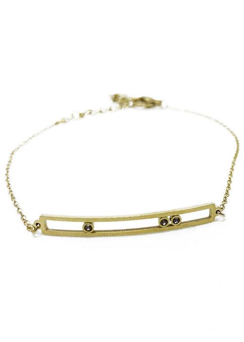 Zag Bijoux ZAG - Armband minimalistic