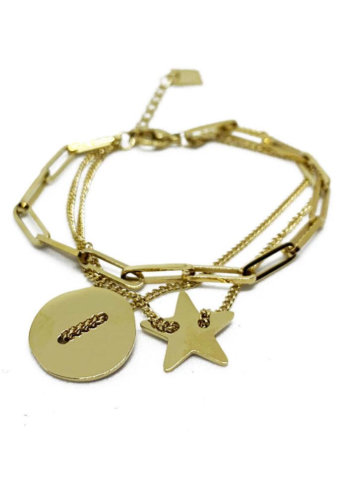 ZAG - Armband Chain star