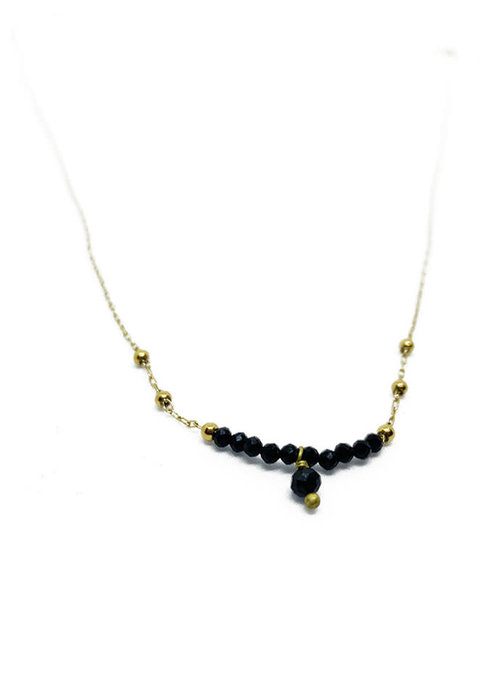 Zag Bijoux Zag - Ketting black spinel