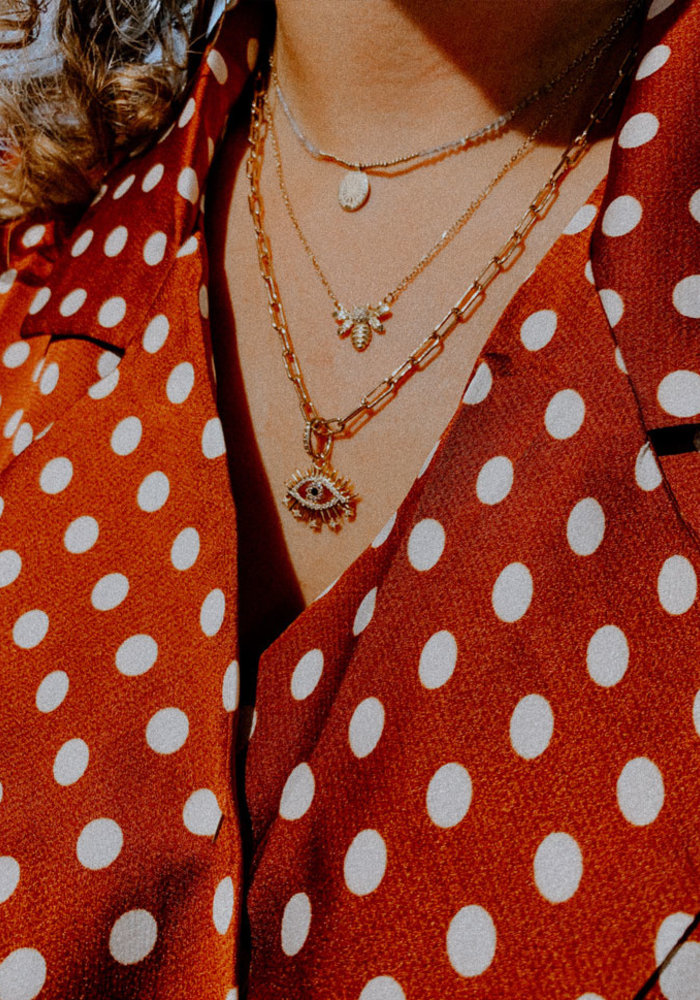 My Jewellery - Ketting bedel & labradorite