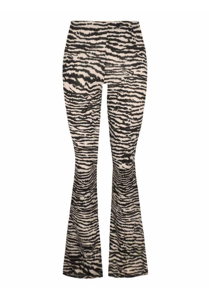 Zebra white black - pants