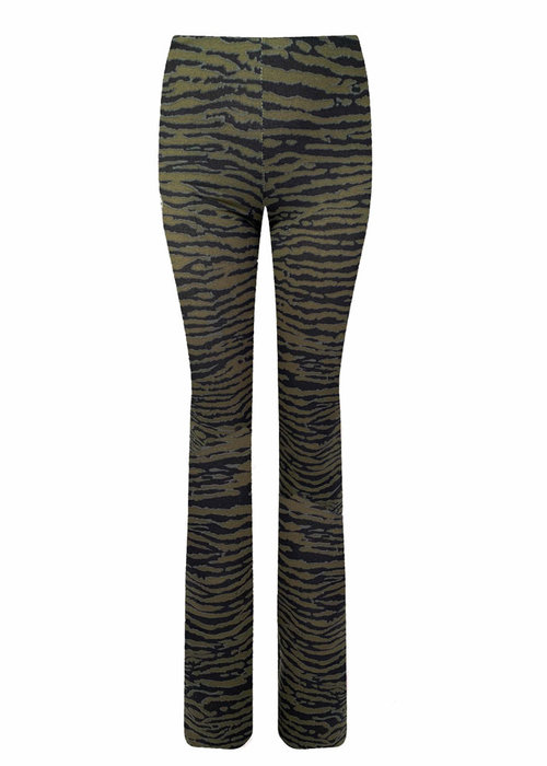 Zebra green black - Pants
