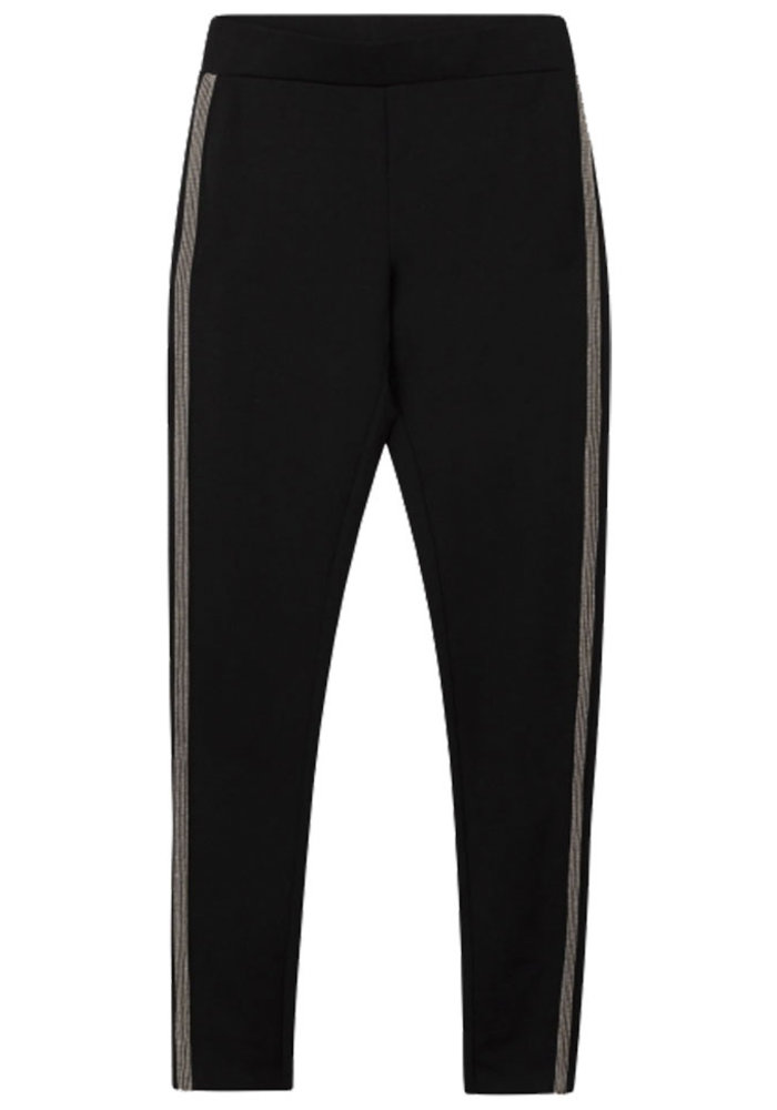 Alix - Knitted legging with fancy tape