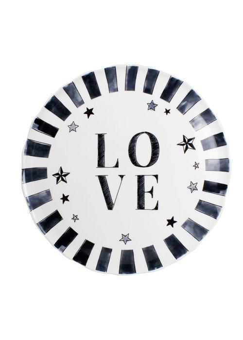 Blond x Noir - Love Plate