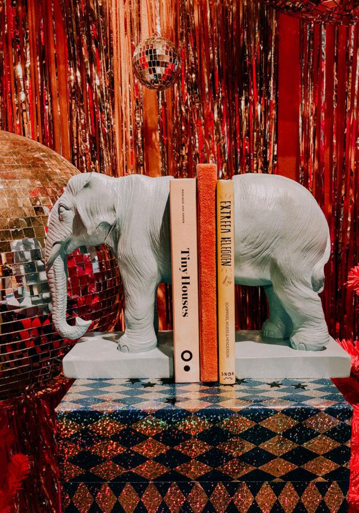 LocoLama - Bookend Blue Elephant
