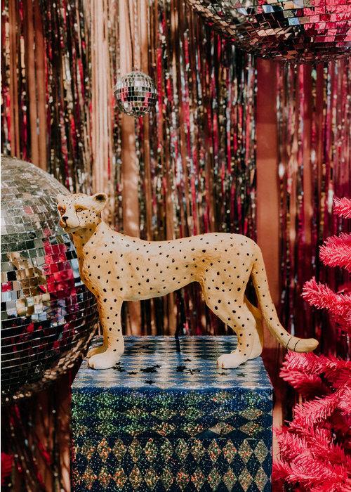 LocoLama - Kids Table Lamp Leopard
