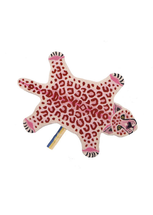 Doing Goods - Pinky Leopard Rug Small