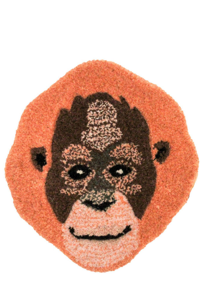 Doing Goods - Odly Orang Utan Head Rug
